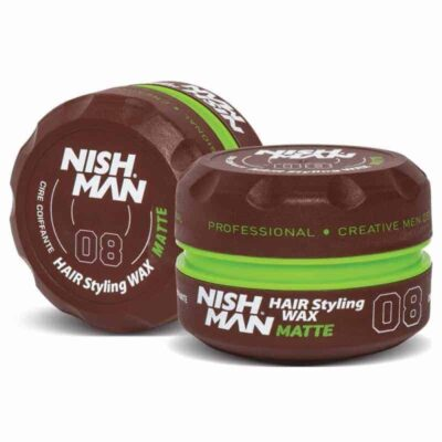 Ceara de par Nishman Hair Styling Wax 08 Matte Finish
