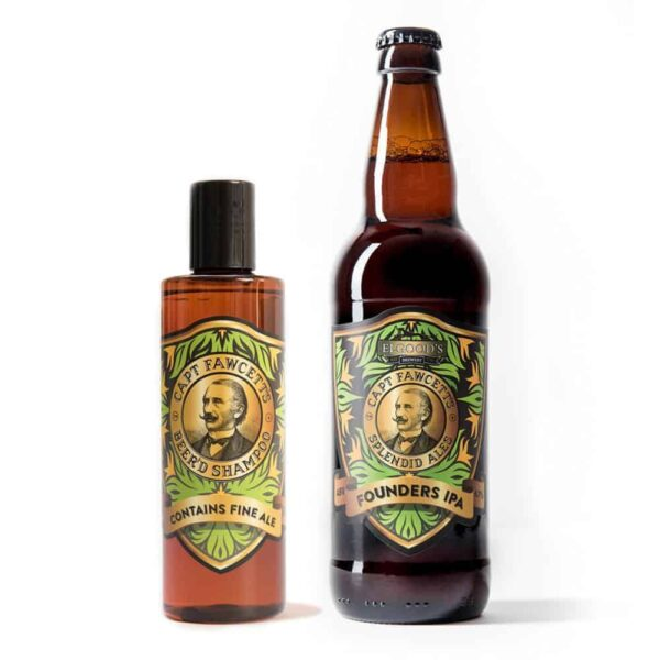 Sampon de barba Captain Fawcett Beerd's Shampoo 250 ml 1