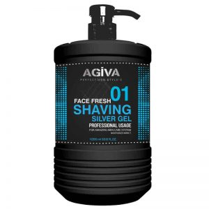 Gel de ras Agiva Shaving Gel 01 Silver 1000 ml